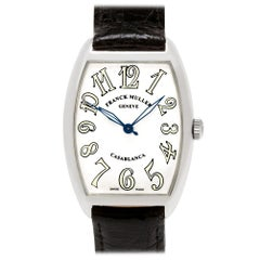 Franck Muller Casablanca 2852 WW, Silver Dial, Certified