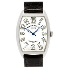 Franck Muller Casablanca 2852 WW, White Dial Certified and Warranty
