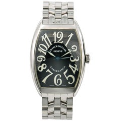 Franck Muller Casablanca 6850, Black Dial, Certified and Warranty