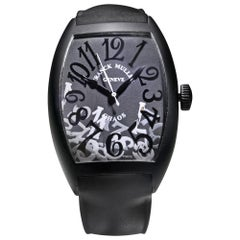 Franck Muller Casablanca Chaos Steel Black PVD Automatic Watch 8880 SC SBL NR
