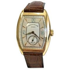 Franck Muller Casablanca Master of Complications Havana 7502 S6 18 Karat Gold
