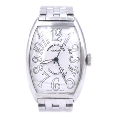 Franck Muller Casablanca Stainless Steel with White Arabic Dial Ref. 5850