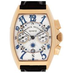 Franck Muller Chronograph 8080 CC AT 18 Karat Rose Gold Auto Watch