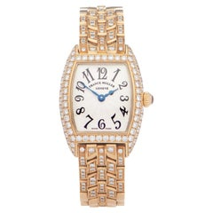 Franck Muller Cintree Curvex 0 2500 QZ D Ladies Yellow Gold 0 Watch