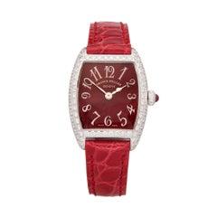 Franck Muller Cintree Curvex 18 Karat White Gold 2251QZD Wristwatch