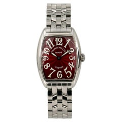 Franck Muller Cintree Curvex 7502 QZ, Case, Certified and Warranty