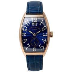 Franck Muller Cintree Curvex Casablanca 2851 S6 Automatic Watch 18 Karat Rose