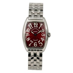 Franck Muller Cintree Curvex MISSING, Brown Dial, Certified