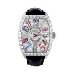 Franck Muller Color Dreams Diamond Pave Watch