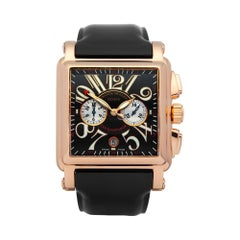 Franck Muller Conquistador Cortez Chronograph 18 Karat Rose Gold 10000 H CC