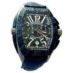 Franck Muller Conquistador Titanium Men Sports Chrono Watch 8900 CC GP