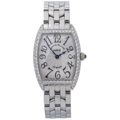 Franck Muller Curvex 1752QZD, Silver Dial, Certified and Warranty