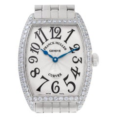 Franck Muller Curvex 7502 QZDP, Beige Dial, Certified and Warranty