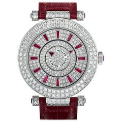 Franck Muller Double Mystery Watch DM 42 D 2R CD-Red