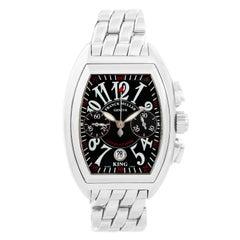 Franck Muller King Conquistador Men's Chronograph Stainless Steel Watch 8005KCC