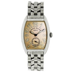 Franck Muller Ladies Stainless Steel Casablanca manual Wristwatch Ref 7502 S6