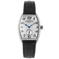 Franck Muller Ladies White Gold Curvex manual Wristwatch