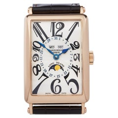 Franck Muller Long Island 1200 MC L Men's Rose Gold Annual Calendar Watch