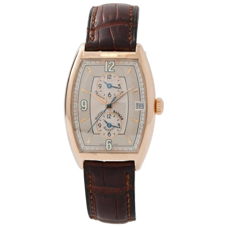 Franck Muller Master Banker Havana 2852MBHV Men's Automatic Watch Grey Dial