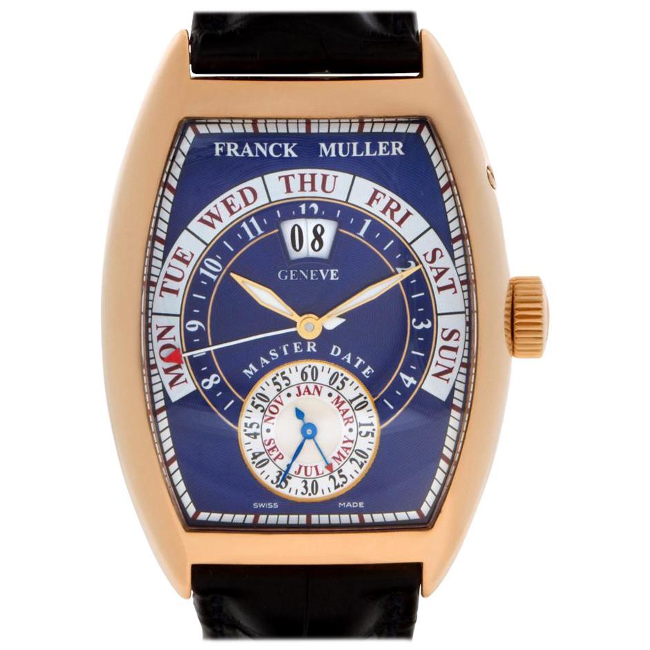 Franck Muller Master Date 8880 GG DT 18 Karat Rose Gold Auto Watch