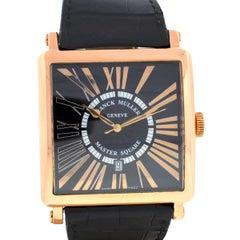 Franck Muller Master Square 18 Karat Rose Gold Watch
