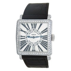 Franck Muller Master Square 18k White Gold Men's Watch Automatic 6000 H SC DT D