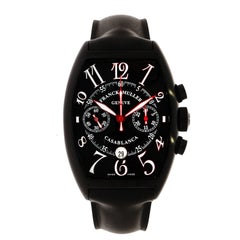 Franck Muller stainless steel Casablanca Chronograph self-winding Wristwatch