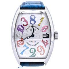Franck Muller Stainless Steel Crazy Hour Color Dream