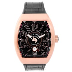 Franck Muller Rose Gold Vanguard Automatic Wristwatch