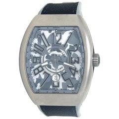 Franck Muller Vanguard Chrono V 45 SC DT, Grey Dial, Certified