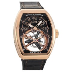 Franck Muller Vanguard Gravity Tourbillon Rose Gold Watch