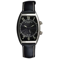 Franck Muller White Gold Black Dial Big Ben Alarm 5850 AL Manual Wind Watch