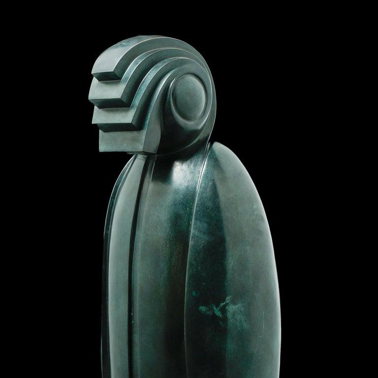 Horus Sculpture by Franco Adami , XX Century For Sale 2