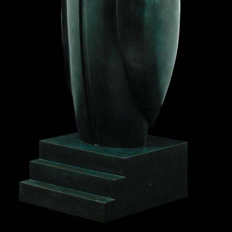 Horus Sculpture by Franco Adami , XX Century For Sale 3