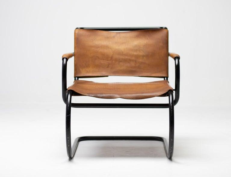 Franco Albini 1933 Triennale Lounge Chair For Sale 2