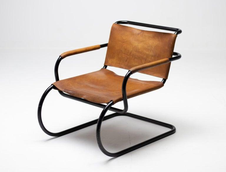 Italian Franco Albini 1933 Triennale Lounge Chair For Sale