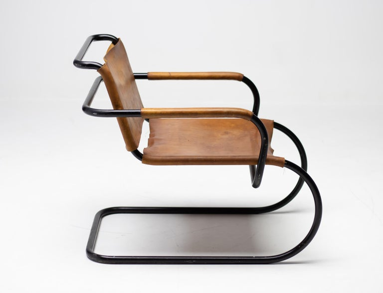 Mid-20th Century Franco Albini 1933 Triennale Lounge Chair For Sale
