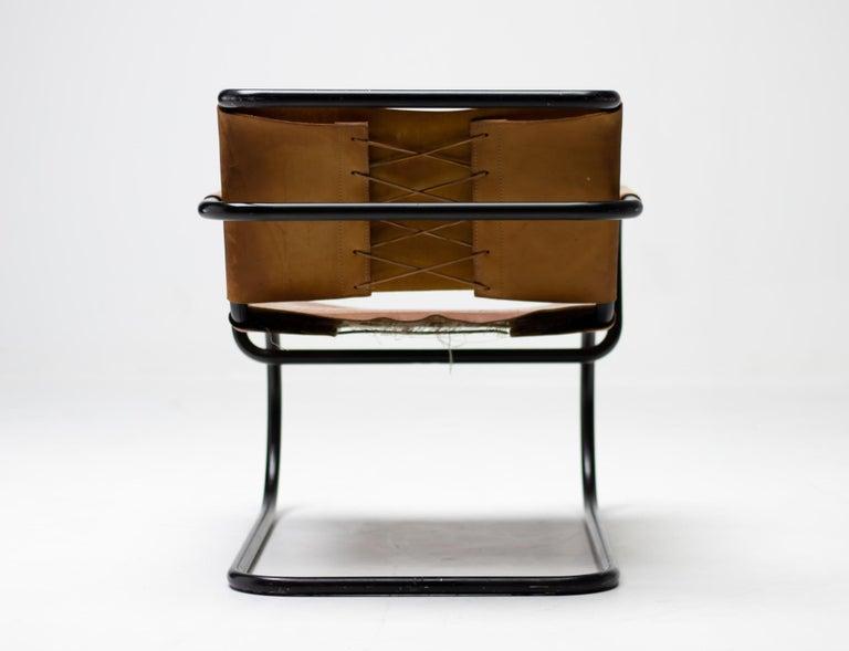 Franco Albini 1933 Triennale Lounge Chair For Sale 1