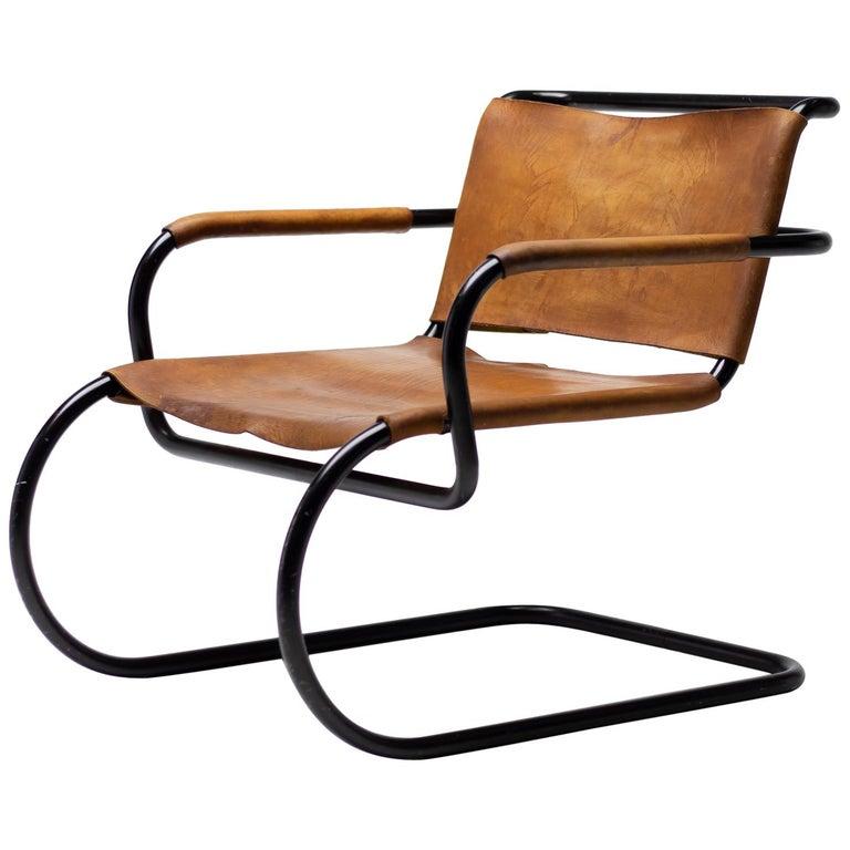 Franco Albini 1933 Triennale Lounge Chair For Sale
