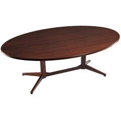 Franco Albini and Franca Helg Table TL22 Wood Poggi, Italy, circa 1958