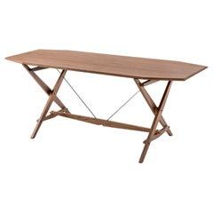 Franco Albini Cavalletto Table, Wood by Cassina