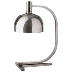 Franco Albini Chromed Table Lamp from AS AM Series by Sirrah, 1960