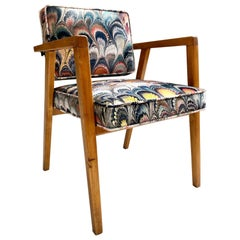 Franco Albini for Knoll Model 48 Chair in Beata Heuman Velvet