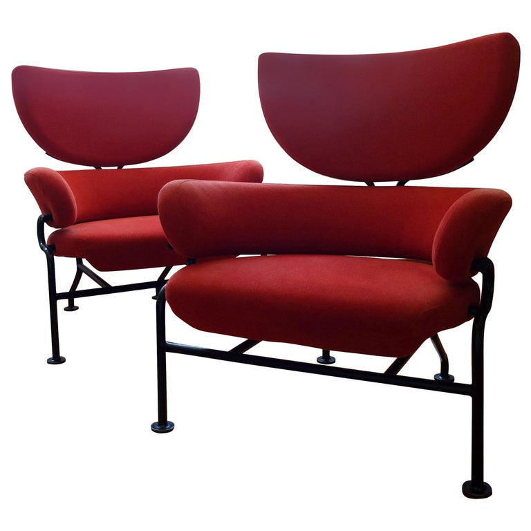 Franco Albini and Franca Helg for Poggi Tre Pezzi model PL19 chairs, 1959, offered by Vaspaar