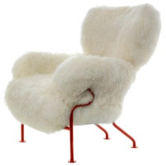 Franco Albini & Franca Helg Limited Edition of 100 Tre Pezzi Armchair by Cassina