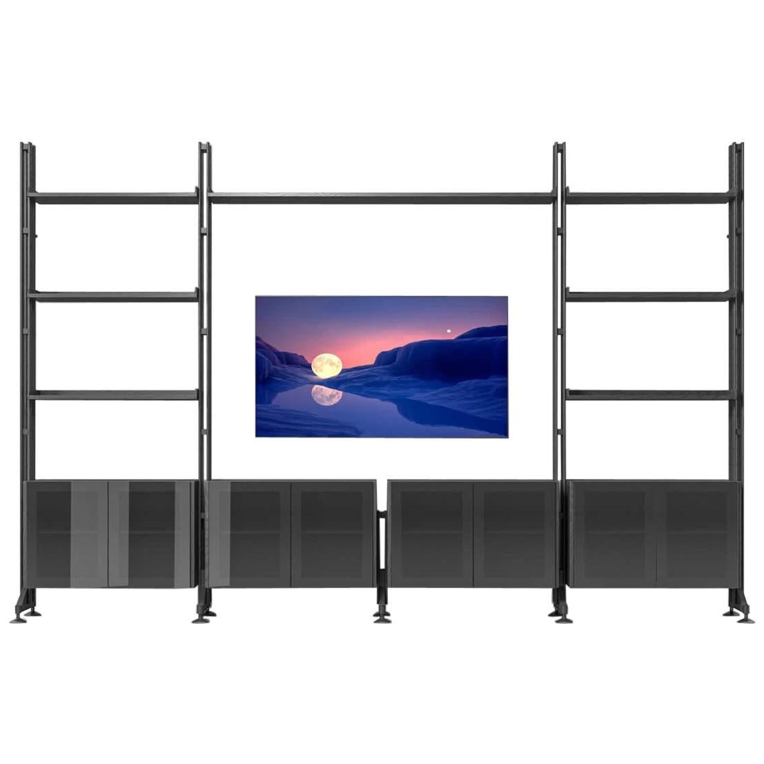 Franco Albini Infinito Wall Modular System Bookcase by Cassina