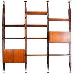 Franco Albini Italian Midcentury Bookcase Model LB7
