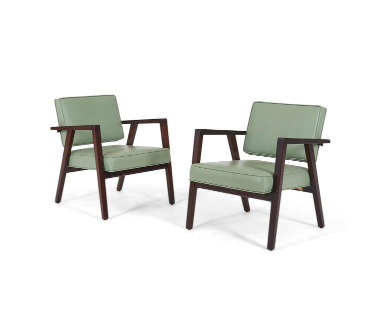 Mid-Century Modern Franco Albini Lounge chairs, Knoll, 1952 For Sale