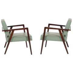 Franco Albini Lounge chairs, Knoll, 1952