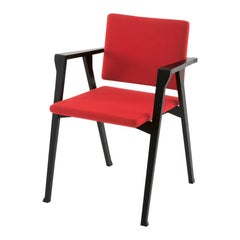 Franco Albini Luisa Chair, Wood and Fabric by Cassina